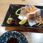 吉原もん - 太刀魚のお刺身♡ さて日本酒!
