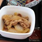 吉野家 - 肉だく牛丼の肉