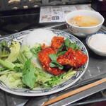 ベトナム料理 インドシナ - ビンザンさらめしセットA(900円)