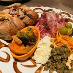 キッチンリブス - 料理写真:前菜盛合わせ 1,600円