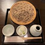 妙庵 - 田舎そば 1000円 粗めの蕎麦粉の食感が堪らない
