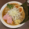 麺屋 とがし - 料理写真:とがしの濃厚ラーメン(白 中盛) 1000円 濃厚なえびのスープが絶品