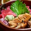 うお多 - 料理写真:二色丼(まぐろ・穴子)@1,200円