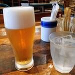 CAMPS - 別オーダーの生ビール600円税別