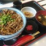 正岡の焼肉レスト - 料理写真:焼肉丼定食(ごはん大盛・おかず大)