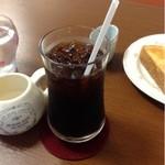 cafe 航路 - アイスコーヒー  420円