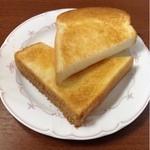 cafe 航路 - モーニングサービスのトースト