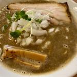 麺処 浮き雲 - 料理写真:濃厚煮干しそば@850円