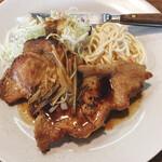 はにわラーメン - 料理写真:生姜焼き2枚