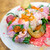 WE ARE THE FARM - 料理写真:季節野菜と本日の鮮魚のカルパッチョビーツドレッシング