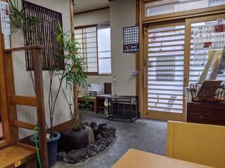 登喜川 - 店内