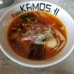 鶏 ソバ カモシ - 鶏soba辛塩 800円