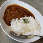鶏 ソバ カモシ - ミニカレー 250円