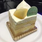 Patisserie Yu Sasage - 桃のショートケーキ