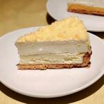 マカロニ市場 - ダブルチーズタルト@2層のチーズがたまらない