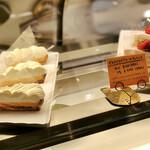 マカロニ市場 - レモンタルト、イチゴとラズベリーのティラミス