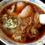 手打ラーメン三玉家 - 料理写真:ワンタン麺(税込700円)
