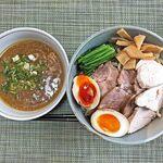 らー麺土俵 鶴嶺峰 - 料理写真:鶴嶺峰つけ麺
