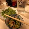 甲子園第二球場 - 料理写真:酎ハイ+お通し+サービス