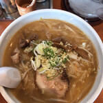 らー麺 ふしみ - すみれ風味噌780円