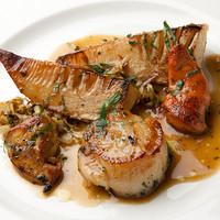 サヴール - 帆立貝とタケノコのロースト