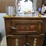 Birusutandoshigetomi - 氷式冷蔵庫と三代目重富寛氏