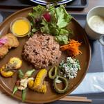 リソリソプラスキッチン - 料理写真:酵素玄米菜食プレート1500円税込