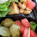 プールトワ - 野菜がたっぷり