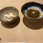 132967815 - 嶺岡豆腐&もずく酢