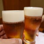 132979605 - 生ビールで乾杯♪