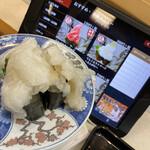 廻鮮寿し丸徳 - 料理写真:てんこ盛りシリーズ エンガワ 260円