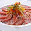 ベビーフェイスプラネッツ - 料理写真:イベリコカルパッチョ