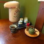 旬の味 伊藤屋 - お茶