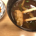 鮨暁 - 魚の身も入っていました(^-^)