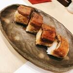 割烹 たけだ - うなぎの棒寿司