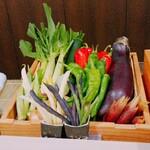 天白 - 料理写真:本日の食材