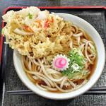 かめ家 - 料理写真:天ぷらうどん