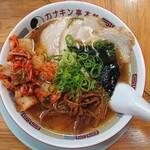 カナキン亭本舗 - 料理写真:2020年6月 カナキンチャーシュー麺 1000円