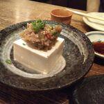 蔵元居酒屋 清龍 - 肉みそやっこ190円