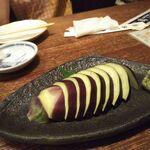 蔵元居酒屋 清龍 - 水なす刺身350円