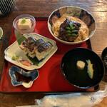 132989590 - 鯖街道 焼鯖鮨付 ¥1,850