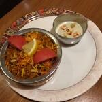 インドスパイス BAR 宇宙脳レストラン チチル&シシリ - 野菜のビリヤニ