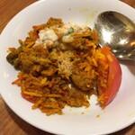 インドスパイス BAR 宇宙脳レストラン チチル&シシリ - ビリヤニとりわけ