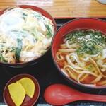132994544 - きざみ丼(うどんとのセット)
