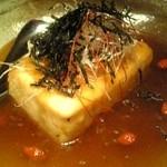 133128 - 凍り豆富のステーキ~WASABIソース~