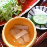 カフェギャラリー柚 - 蕗の味噌和え
