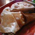 カフェギャラリー柚 - 帆立の貝柱の揚げ物