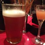 くいものやBAR  - よなよなと食前酒。つきだしに揚げたパスタ