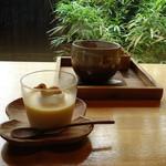 Sumi Cafe - coffee 花塩プリン