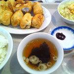 13300452 - 餃子定食並ライス